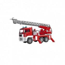 BRUDER Voiture de pompiers avec pompe, lumière et son