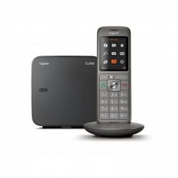 GIGASET Téléphone DECT/GAP CL660 Fixe Sans Fil SOLO Anthracite