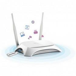 TP-LINK Net WLAN 3G/4G-Router TL-MR3420 (300/4P/USB) Sans SIM Slot