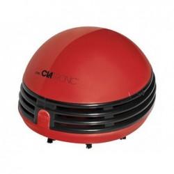 CLATRONIC Mini aspirateur de Table à piles Rouge TS 3530