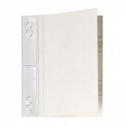 DURABLE Sachet de 10 Attaches Filefix maxi 60 x 100 mm Transparent