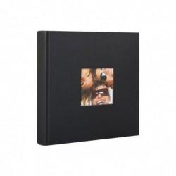 WALTHER Albums photos Fun Noir à pochettes 24x22cm pour 200 photos 10x15cm