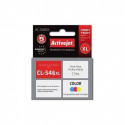 ACTIVEJET Cartouche Jet d'encre COMPATIBLE AC-546RX pour Canon CL-546XL Color 15ml