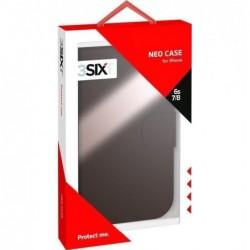 3SIXT Housse de protection Cuir « NeoCase 2in1 » pour Apple iPhone 6S / 7 / 8 Noir