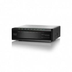 CISCO Net Switch 1000T 8P SMB SG200-08P (SLM2008PT) Managed 4x PoE