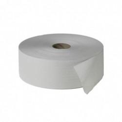 FRIPA Pqt de 6 Rouleaux papier toilette JUMBO 2 épaisseurs Diam 265mm 380 m Blanc