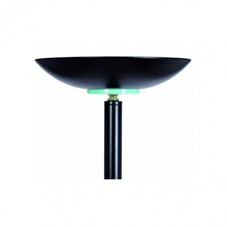 ALBA Lampadaire halogene noir HALO6
