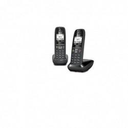 GIGASET Téléphone DECT Duo Gigaset As 470 Noir