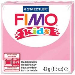 FIMO kids Pâte à modeler, durcissante au four, rose, 42 g