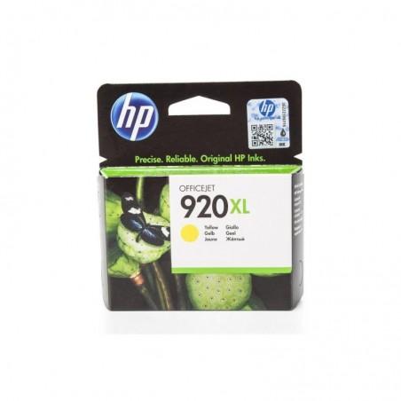 HP Encre originale HP 920XL (CD974AE) pour hp OfficeJet, jaune