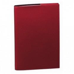 QUO VADIS Agenda Scolaire Planning SD + Rep Sept / Dec 18x24cm Club rouge cerise