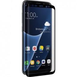 3SIXT Verre de protection «CurvedGlass Screen» Samsung Galaxy S8 Plus Noir
