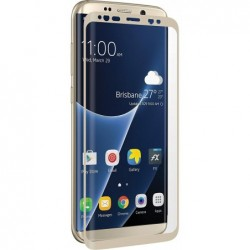 3SIXT Verre de protection «CurvedGlass Screen» Samsung Galaxy S8 Or