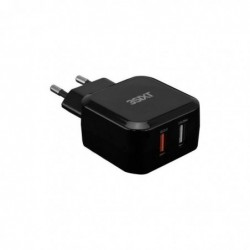 3SIXT Chargeur mural Quick Charge 5,4 A Noir