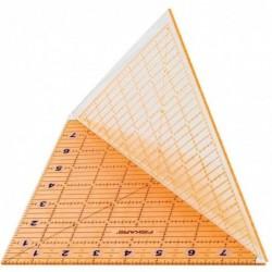 """FISKARS Règle acrylique pliable, 20,3 x 20,3 cm (8"""" x 8"""")"""