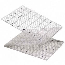"""FISKARS Règle acrylique pliable, 15,2 x 61 cm (6"""" x 24"""")"""