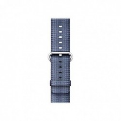 APPLE Bracelet pour APPLE WATCH 42 mm Midnight Blue Woven Nylon