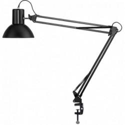 UNILUX Lampe de bureau LED SUCCESS 105, pince/socle, noir