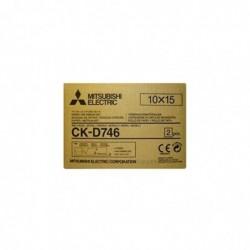 MITSUBISHI ELECTRIC Papier CK-D 746 10x15 cm 2x 400 imprimés