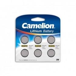 CAMELION Pack Mix de 6 piles Camelion Lithium CR2016, CR2025, CR2032