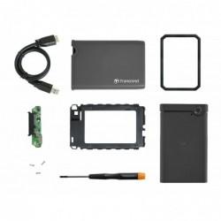 """TRANSCEND Kit de Conversion StoreJet Tout-en-un pour Disque Dur et SSD 2.5"""""""