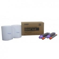 DNP Papier photo à sublimation thermique 10 x 15 pour imprimante DS-40  2x 400 imprimés