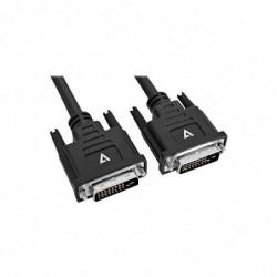 V7 Cable DVI-D vers DVI-D 5m