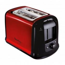 MOULINEX Grille-pains LT 261 D Subito 850 watts Noir/Rouge