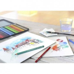 FABER-CASTELL Crayon aquarellable ALBECHT DÜRER, orange de
