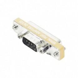 Mini adaptateur DB9/DB25 9M/25F