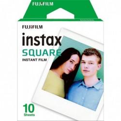 FUJIFILM Bte de 10 Films pour Appareil Instax Square SQ10 Blanc