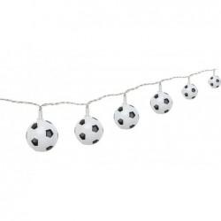 GOOBAY Guirlande Lumineuse 10 LED Ballon de Football Diam 5 cm sur 2,5m Total 5,2 m