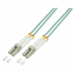 LOGILINK PROFESSIONAL Câble patch à fibre optique, LC Duplex - LC Duplex, OM3 3m