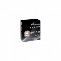 MEDIARANGE Pack 10 Disquettes Floppy Disc 1.44MB MF2HD
