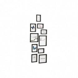 NIELSEN DESIGN Nielsen Kit de 10 cadres, noir Cadre interch.,plastique 8999176
