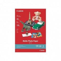 CANON Lot 5 Feuilles Papier Photo MP-101 A4 170g Mat