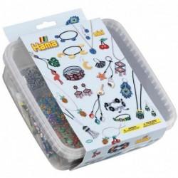 HAMA Kit perles mini à repasser et plaques