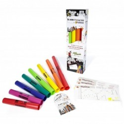 FUZEAU Pack 8 BOOMWHACKERS +CD Tubes musicaux