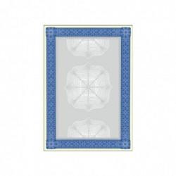 SIGEL Bte de 20 Papier à motif Diplôme A4 185 g Bleu