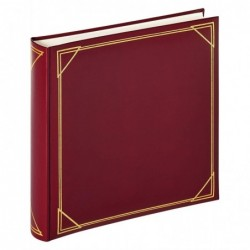 WALTHER Album photo Rouge 30x30 cm 100 pages blanches