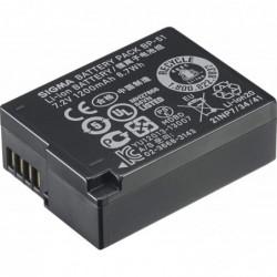 SIGMA batterie BP-51 Li-Ion