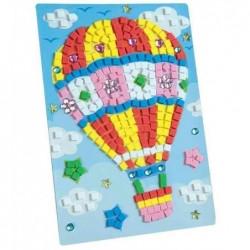 """FOLIA Mosaique de mousse caoutchouc """"voyage en ballon"""","""