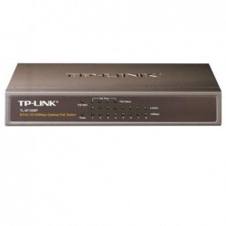 TP-LINK Switch 8 ports 100Mbits dont 4 PoE 50W
