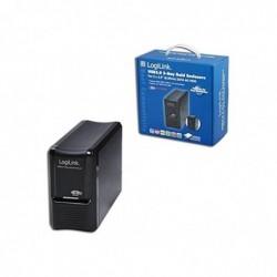 """LOGILINK Boîtier pour disque dur externe RAID pour 2 disques durs 3,5"""" SATA III"""