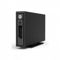 """RAIDSONIC Boîtier externe pour Disque dur 2,5""""/3,5"""" SATA/SSD USB 3.0 Noir"""