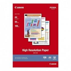 CANON Papier Jet d'encre High Résolution HR101N A4 50 feuilles