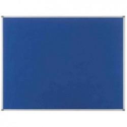 NOBO Tableau d'affichage Classic en feutre 450x600mm bleu
