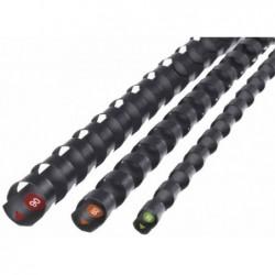GBC Lot de 100 Procomb Peignes de reliure 8 mm noir