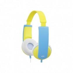 JVC HA-KD 5 Y-E Tinyphones Casque pour enfant Bleu/Jaune