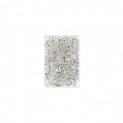 WEDO Boite de 100 Punaises 10 mm Pte 12 mm Transparent